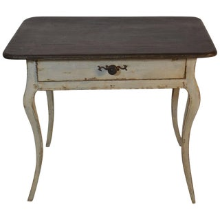 Louis XV Period End Table With Central Drawer For Sale
