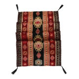 Image of Turkish Kilim Patterned Table Runner For Sale
