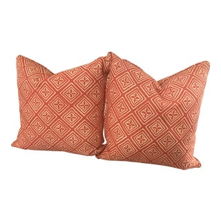 Quadrille China Seas Fiorentina Pillows - A Pair