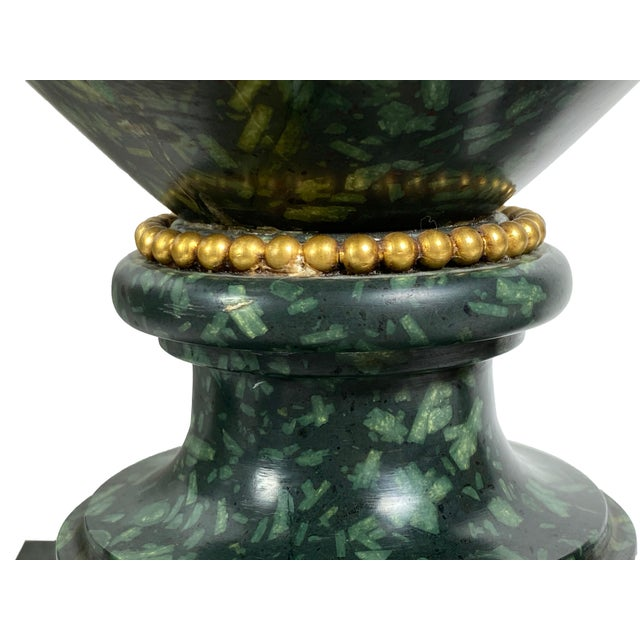 Early 18th Century Italian Porphyry Vases With Bronze Dore Mounts - a Pair For Sale - Image 11 of 13