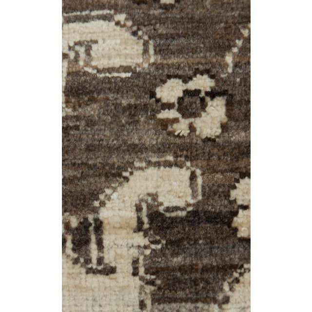 """Gabbeh Hand Knotted Area Rug - 7'9"""" X 9'6"""" - Image 4 of 4"""