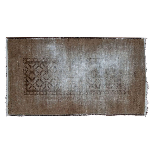 """Distressed Belouch Rug - 3'1"""" x 5'6"""" - Image 2 of 5"""