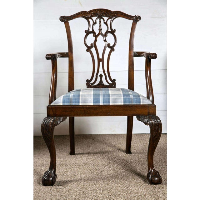 Chippendale Dining Chairs - Set of 8 - Image 6 of 9