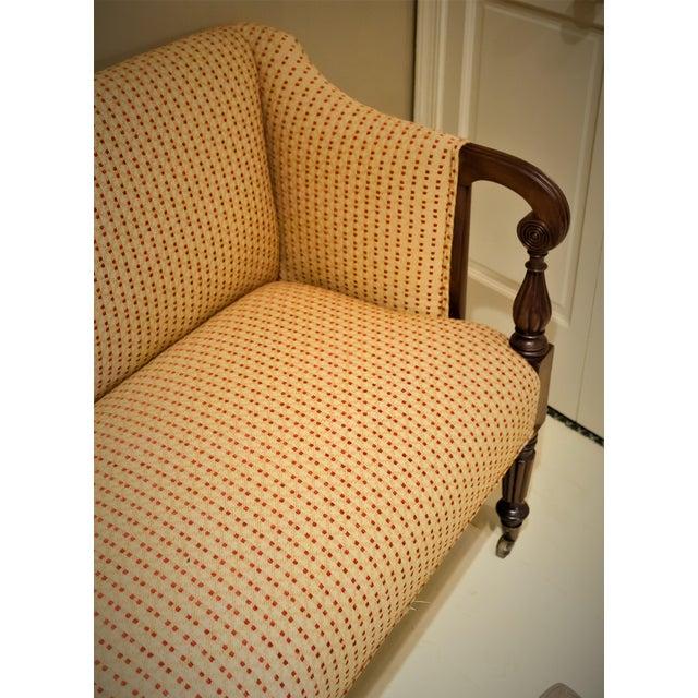 Sheraton Scroll Arm Sofa, Circa:1815, New England For Sale - Image 4 of 9