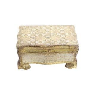 Small Gold Florentine Box