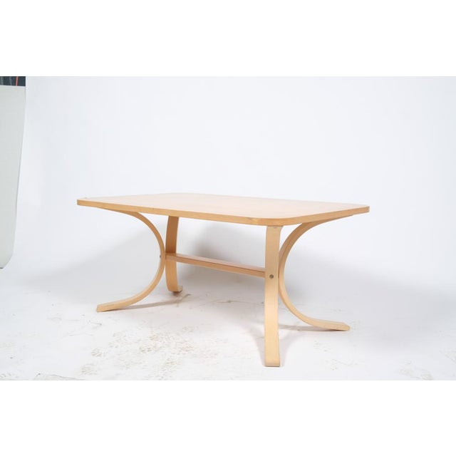 Mid-Century Modern Asko Mid-Century Modern-Style Birch Coffee Table For Sale - Image 3 of 11