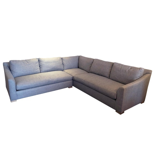 Modern C R Laine Furniture Fisher Sectional Chairish
