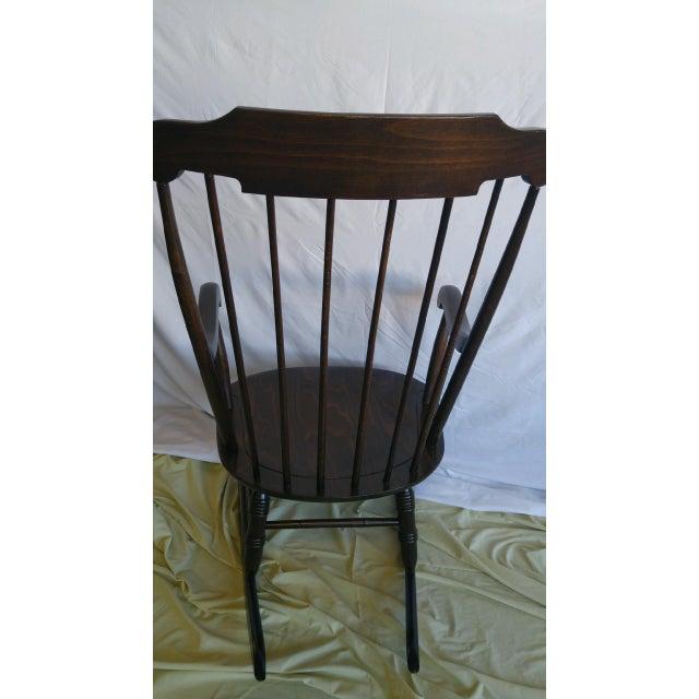 Vintage Spindle Back Windsor Rocking Chair - Image 5 of 5