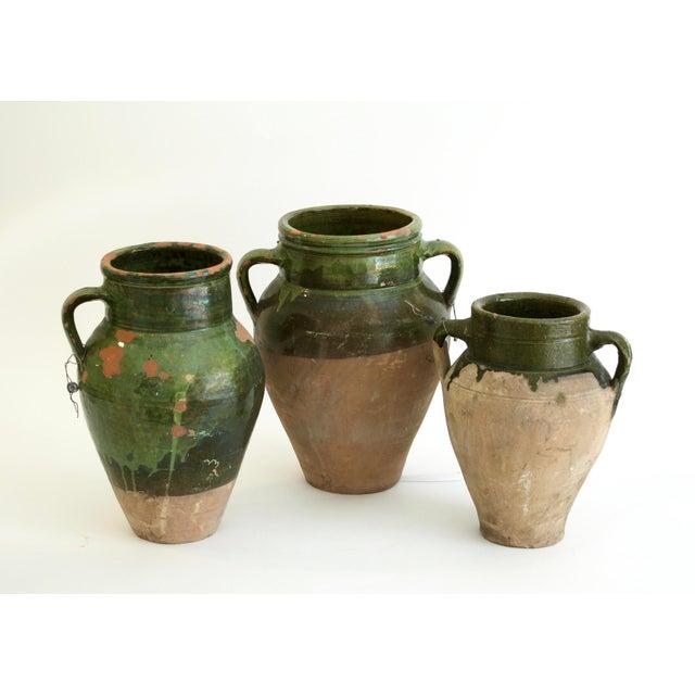 Antique Turkish Oil Pots- Set of 3 - Image 2 of 11