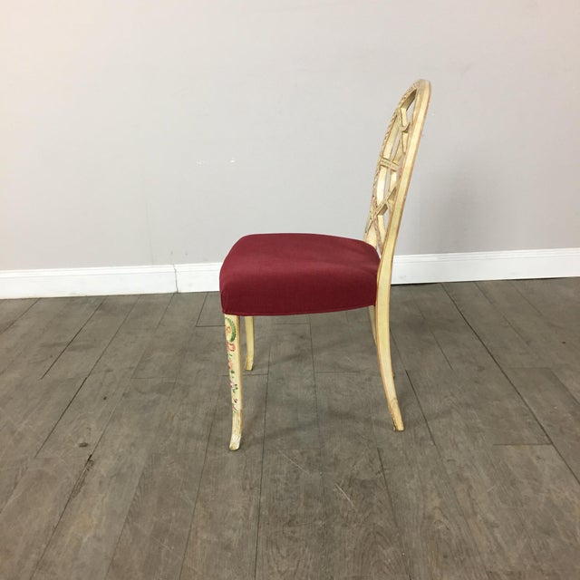 Hand Painted Side Chair - Image 8 of 10