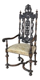 Image of Chestnut Bergere Chairs