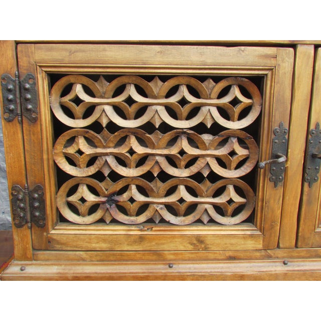 Spanish Carved Buffet - Image 5 of 8