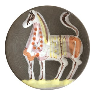 Raymor Italy Abstract Horse Plate