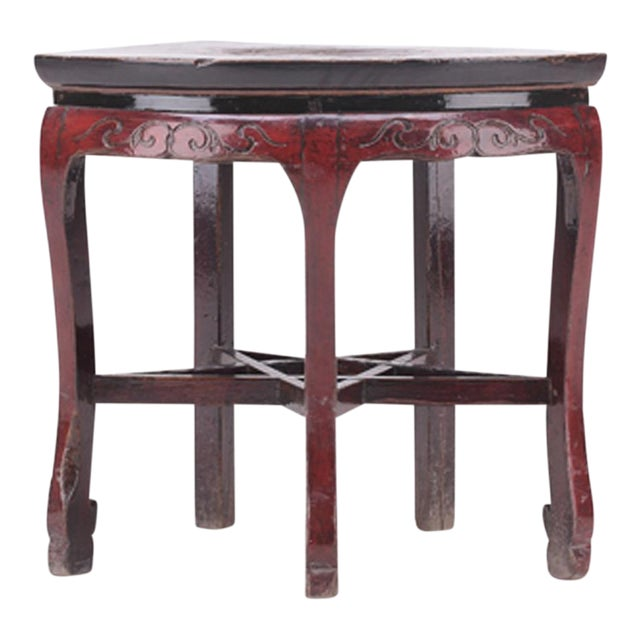 C. 1800 Chinese Side Table - Image 1 of 4