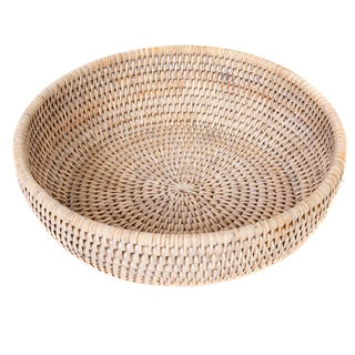 Artifatcs Rattan Bowl For Sale