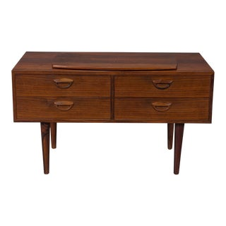 1950s Danish Modern Kai Kristiansen Rosewood Chest For Sale
