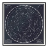"Image of ""Constellation Explorer"" Northern Hemisphere Star Chart Print For Sale"