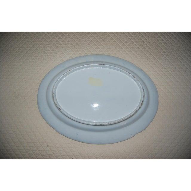 Antique English Ironstone Platters & Dishes - Set of 9 - Image 3 of 6