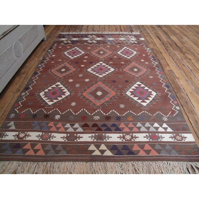 Islamic Balikesir Kilim For Sale - Image 3 of 8