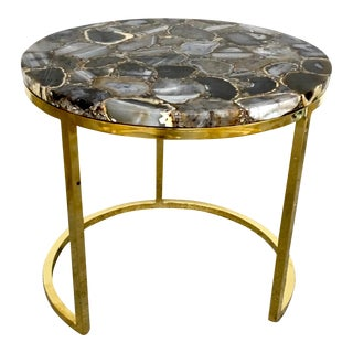 Caracole Modern Moonbeam Accent Table For Sale