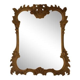 Antique Carved Wood Frame For Sale