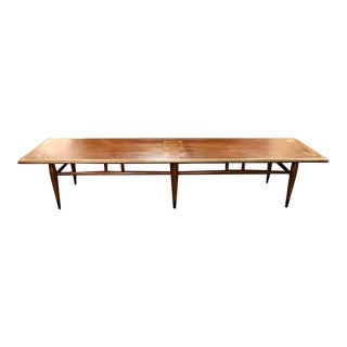 Extra Long Mid Century Mondern Lane Acclaim Coffee Table For Sale