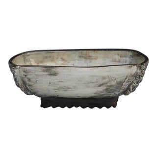 Kang Hyo Lee, Puncheong Squared Bowl 1, 2012 For Sale