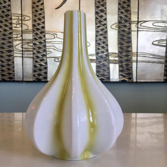 German Glazed Ceramic Bud Vase For Sale - Image 4 of 7