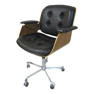 Tecta D49 Swiveling Adjustable Office Chair by Hans Koenche
