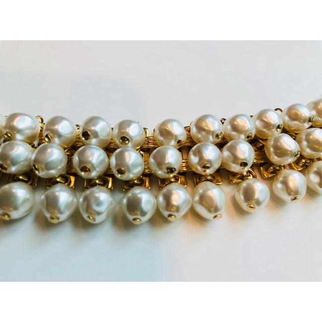 2a5fd6bf9d4 1980s Christian Dior Pearl Belt For Sale In New York - Image 6 of 12