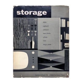 """George Nelson Edited """"Storage"""" Book (1954) For Sale"""