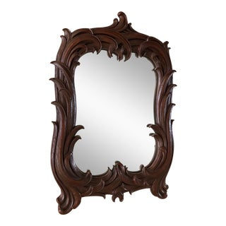 1960s Vintage Syroco Wall Mirror For Sale