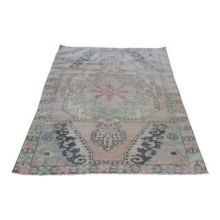 Traditional Anatolian Home Carpet - 7' x 4' 3''