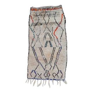 1980s Vintage Azilal Rug For Sale