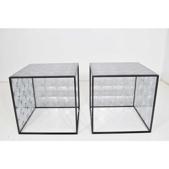 Patricia Urquiola Lens Side Tables by Patricia Urquiola for B & B Italia - a Pair For Sale - Image 4 of 9