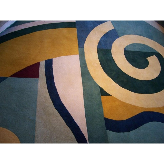Custom Edward Field Deco Style Rug (13 x 13 Foot) - Image 5 of 5