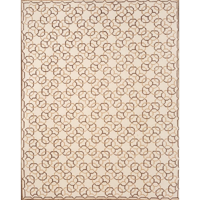 Schumacher Assyria Grille Wool Area Rug, Patterson Flynn Martin For Sale In New York - Image 6 of 6