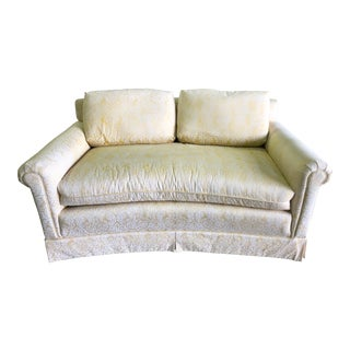 Traditional Yellow Loveseat For Sale
