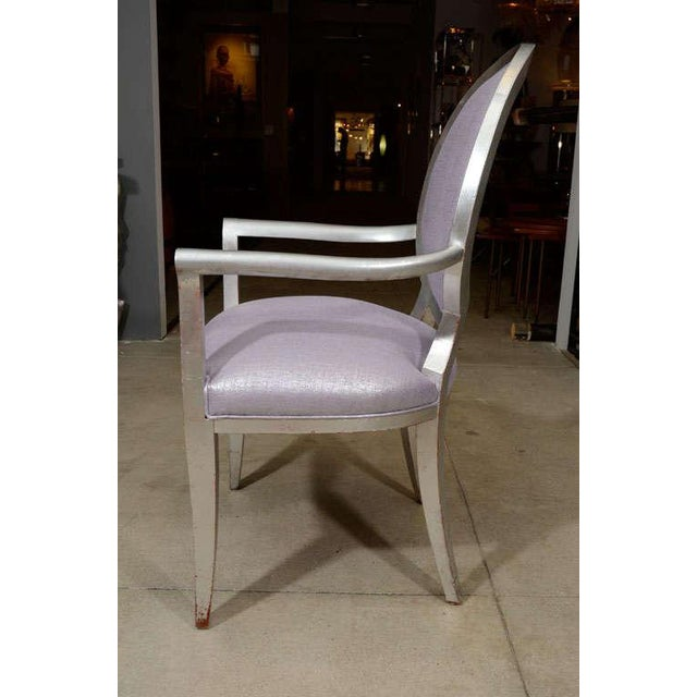 Louis XVI Style Armchairs - A Pair - Image 4 of 7