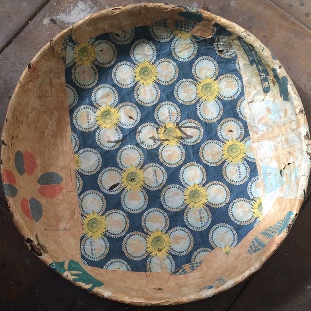 Asian Antique Japanese Mushroom Picking Basket For Sale - Image 3 of 7