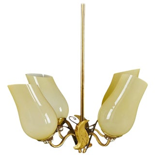 Chandelier in Paavo Tynell Style For Sale