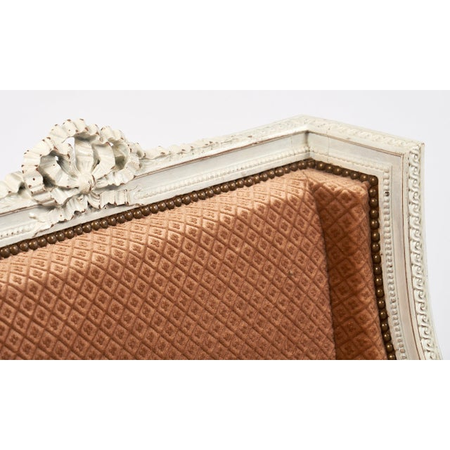 Louis XVI Antique French Louis XVI Style Bergere For Sale - Image 3 of 9