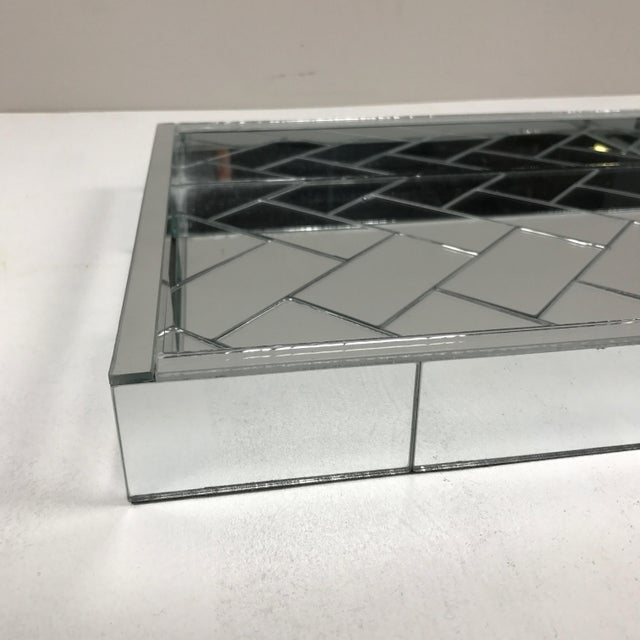Decorative Mirrored Table Tray - Image 5 of 8