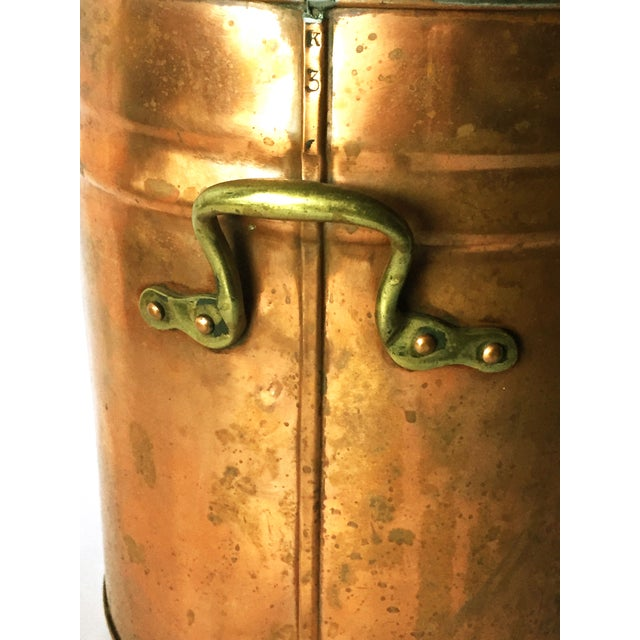 Antique Copper & Brass Drink Dispenser For Sale In New York - Image 6 of 6
