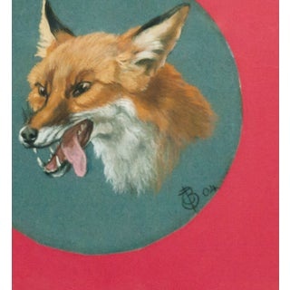 """Fox Head"" Framed Portrait Preview"