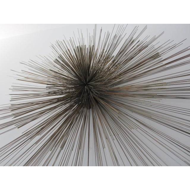 Curtis Jere Large Spoke Wall Sculpture For Sale - Image 9 of 9