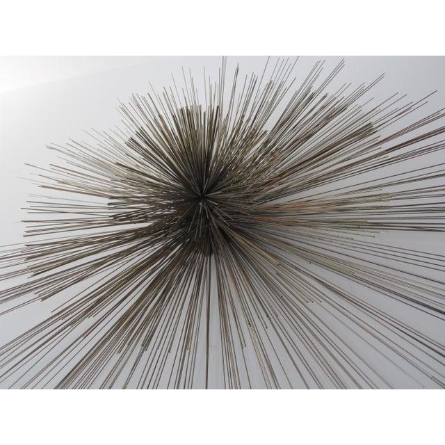 Large Curtis Jere Spoke Pom Pom Wall Sculpture For Sale - Image 9 of 9