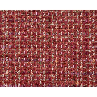 Hinson for the House of Scalamandre Confetti Fabric in Red For Sale