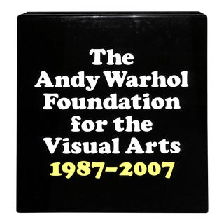 """The Andy Warhol Foundation for the Visual Arts 1987-2007"" Book For Sale"