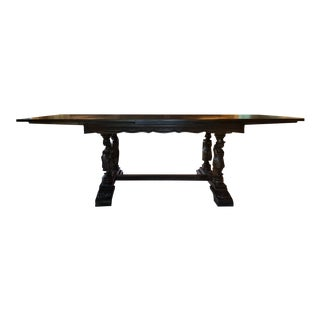Antique Carved Brittany Renaissance Revival Dining Table For Sale